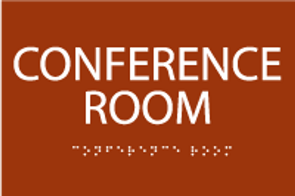 ADA Conference Room Sign