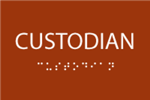 ADA Custodian Sign