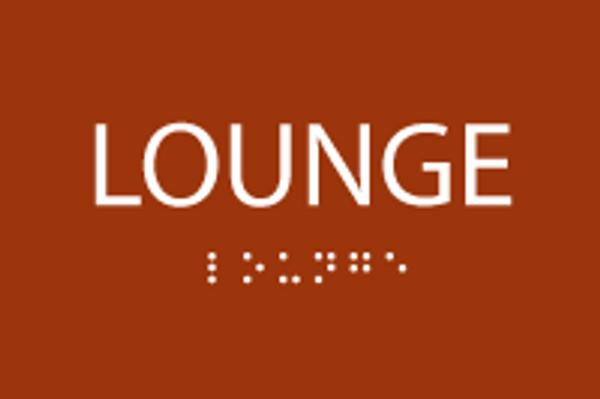ADA Lounge Sign