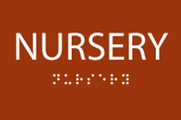 ADA Nursery Sign