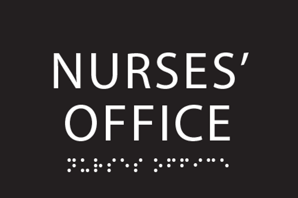 Nurses Office ADA Sign