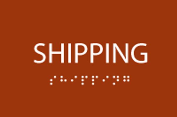 ADA Shipping Sign