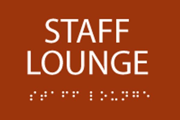 ADA Staff Lounge Sign