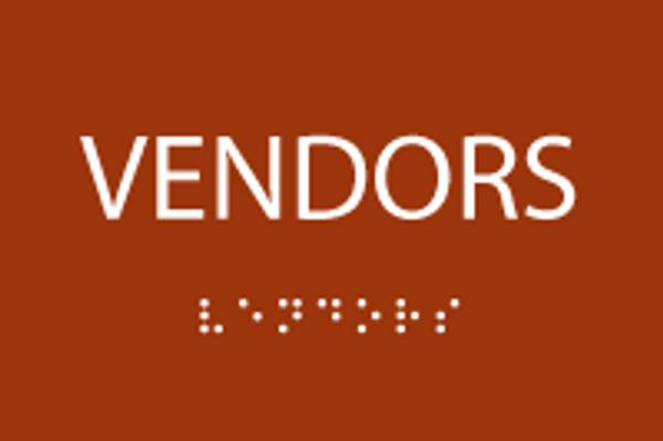 ADA Vendors Sign