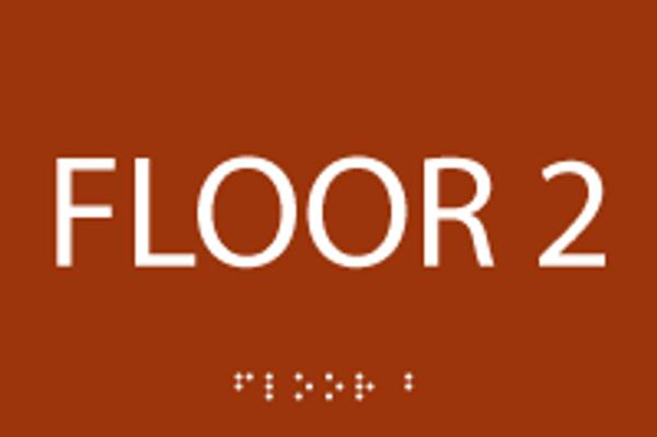 Floor 2 ADA Sign