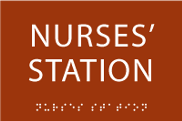 Nurses' Station ADA Sign