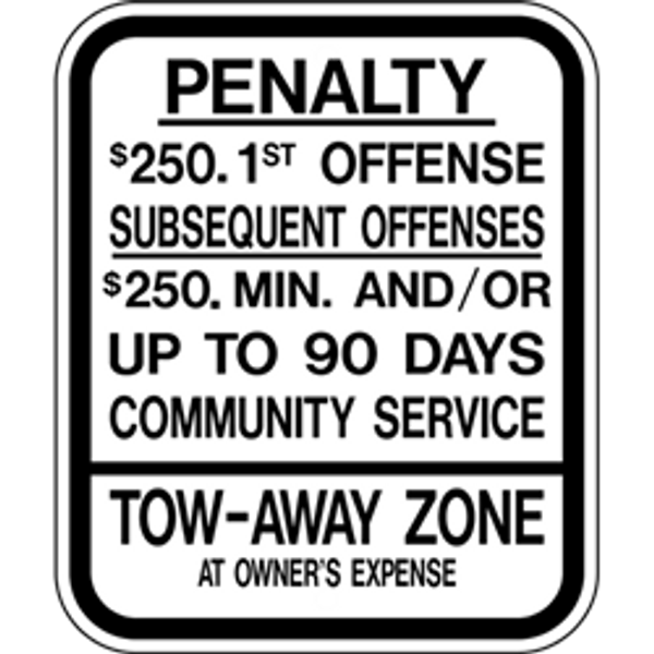 New Jersey Handicap Reserved Parking Sign