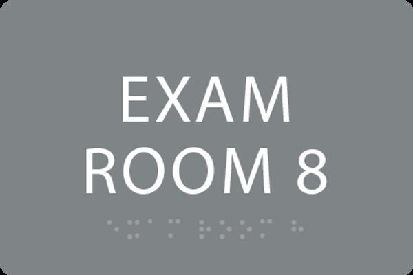 ADA Exam Room 8 Sign