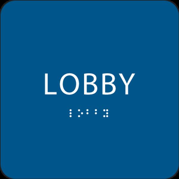 Royal Lobby ADA Sign