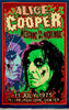 Alice Cooper print viewed in lighted environment