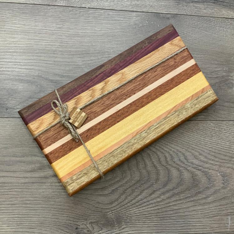 Colorful Striped Cutting Board (Design 6)