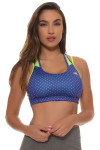 New Balance Women's Tonic Crop Print Sports Bra