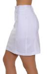 GGBlue Women's Essentials White Wedge Golf Skort