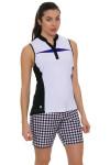 GGBlue Women's Defined Kai Golf Sleeveless Shirt