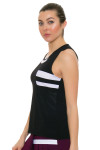 Tonic Active Women's Imperial Black Niroh Tennis Tank TO-2220-118-Black Image 2