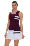 Tonic Active Women's Imperial Niroh Tennis Tank TO-2220-118-Imperial Image 5
