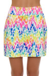 Allie Burke Animal Multi Royal Pull On Golf Skort