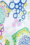 Allie Burke Japanese Garden Print Pull On Golf Skort