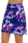 EP Pro NY Women's Luxor Moody Watercolor Print Pull On Golf Skort