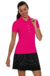Lucky In Love Women's Laser Cut Medallion Pull On Golf Skort LIL-GB24-485001 Image 7