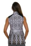 EP Pro NY Women's Gold Standard Animal Print Golf Sleeveless Shirt-6