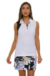 EP Pro NY Women's Gold Standard Abstract Puzzle Pull On Golf Skort-2