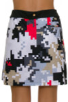 EP Pro NY Women's Gold Standard Abstract Puzzle Pull On Golf Skort-5