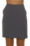 EPNY Women's Mineral Grey Golf Skort-1340NCD -- image 3