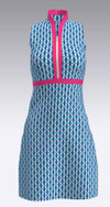 Allie Burke Basketweave Golf Dress