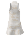 Allie Burke Camo Print Flounce Golf Dress - PRE-ORDER