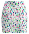 Allie Burke Sailboats Print Pull On Golf Skort