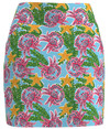 Allie Burke Crab Print Pull On Golf Skort