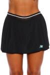 New Balance Women's Black Pleated Tournament Tennis Skirt (NB-WK53439-Black)