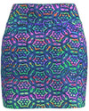 AB SPORT Batik Multi Print Pull On Women's Golf Skirt