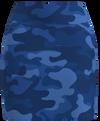 AB SPORT Women's Camo Navy Golf Skirt