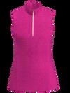 AB SPORT Women's Zip Mock Sleeveless Golf Polo - NEOPH