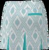 AB SPORT Women's Back Pleat Golf Skirt - IKAT_BAHAMA