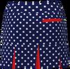 AB SPORT Women's Back Pleat Golf Skirt BSKG05-NPDRED