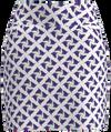 AB Sport Women's Royal Blue Pink Bird Print Golf Skirt