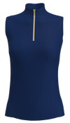 AB Sport Women's Sleeveless Golf Polo GP04-NAVY