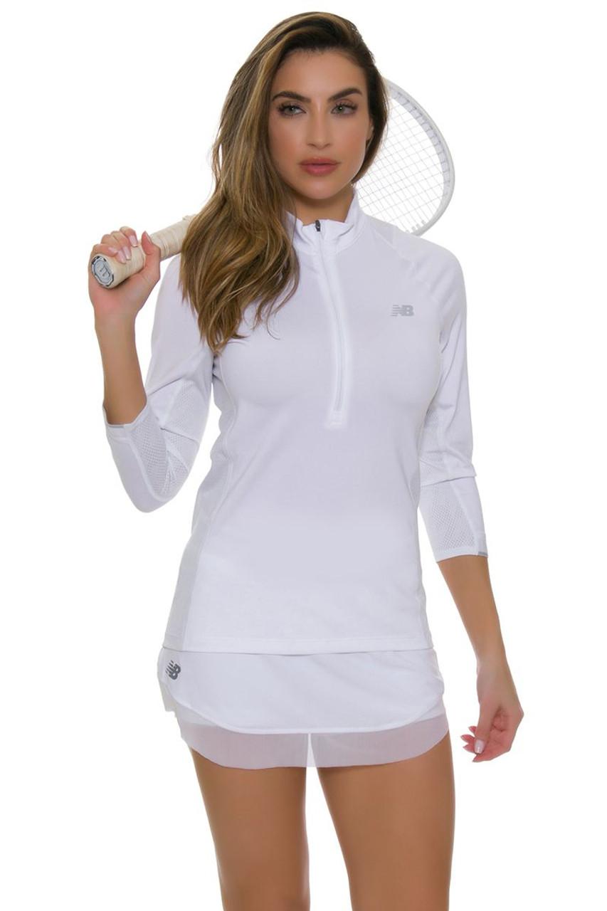 Mesh Hem Tournament Tennis Skirt NB