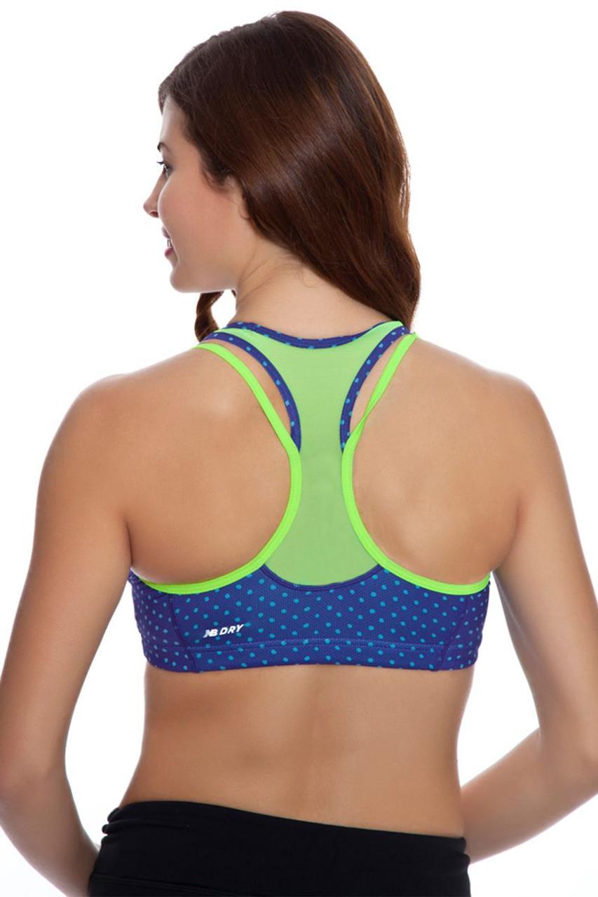 a63d002a3550b New Balance Women s Tonic Crop Print Sports Bra NB-WB61002-547 ...