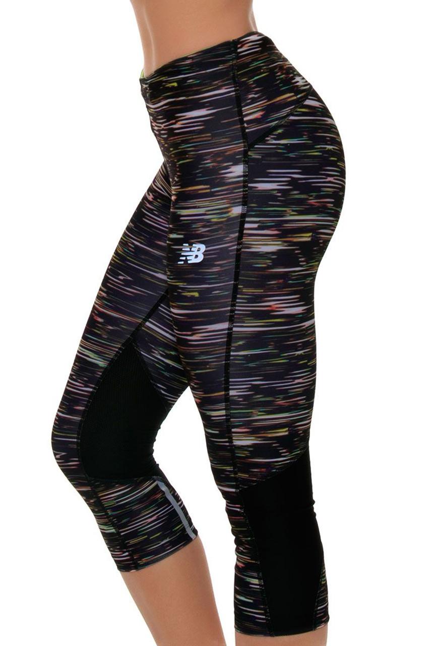 5a45d7e5c864b Impact Stripe Running Capri NB-WP71226-MIS | workout leggings