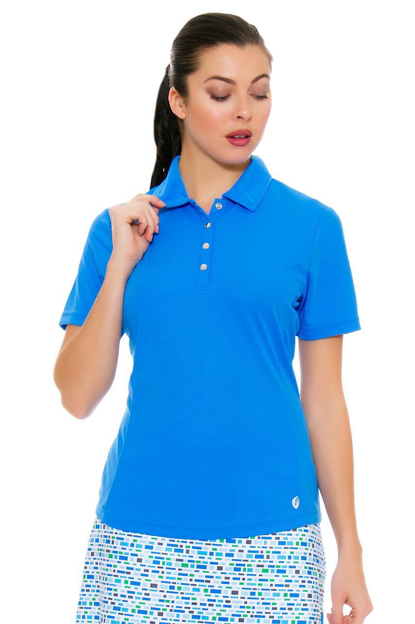 0da574e06 GGBlue Women s Turks   Caicos Tina Carribean Golf Polo Shirt GG-BE808-A060  Image