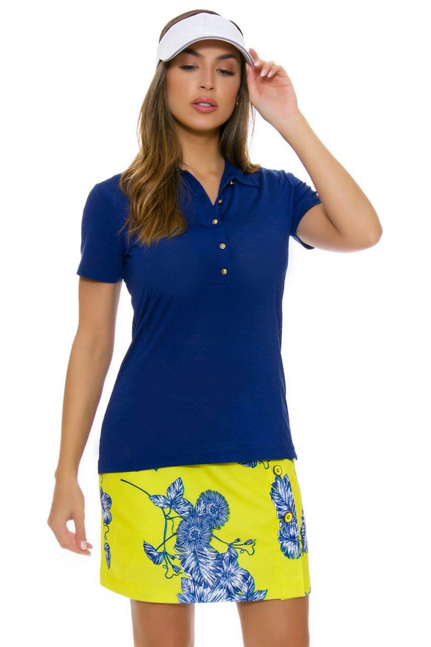 Ep Pro Ny Womens Palmetto Tropical Floral Print Golf Skort Epny