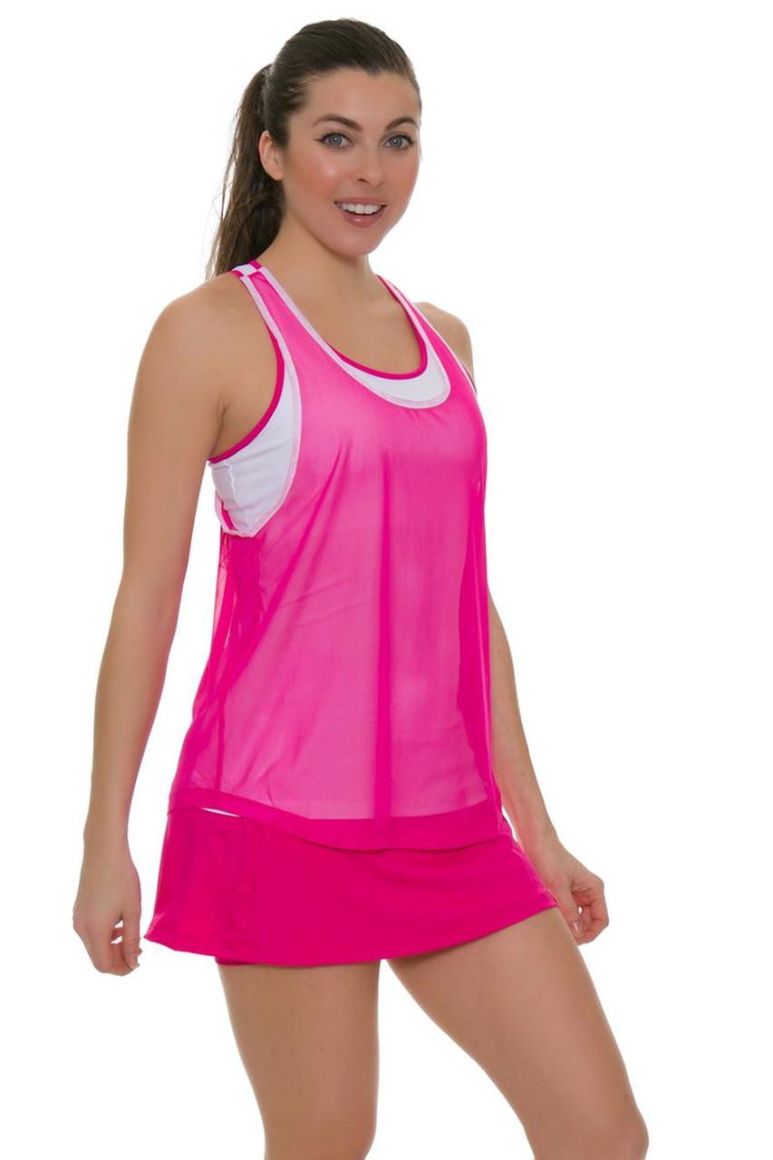 2c8c9cb2e043a Fila Women s Sweetspot Mesh Back Tennis Skirt FT-TW181D45-970