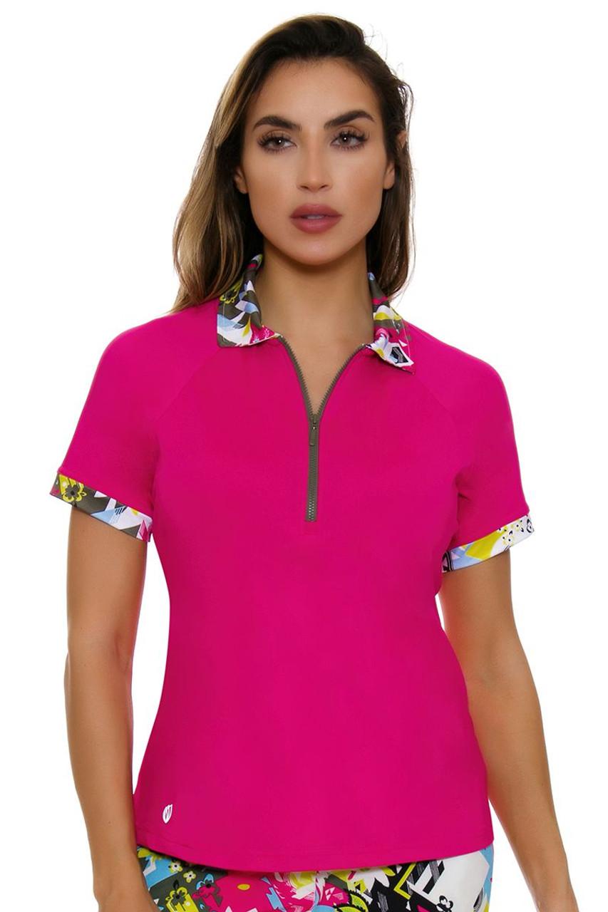 c560aace GGBlue Women's Pursuit Kendall Golf Polo Shirt GG-E1080-3642