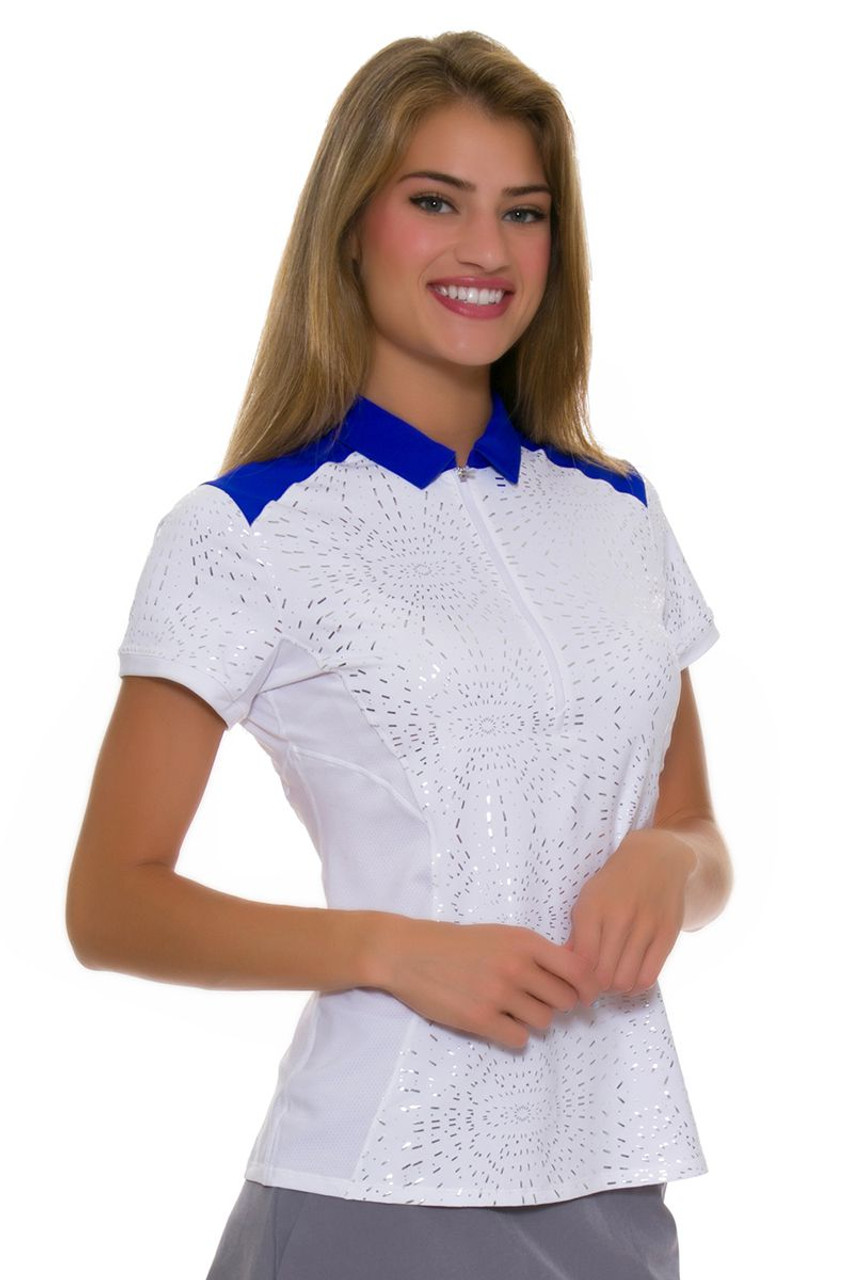 Annika Women s Hero Passion Golf Cap Sleeve Polo AK-LAK00061 ad95b7381eb