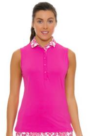 05d9a3d70c2736 Fairway   Greene Women s Flourishing Callie Golf Sleeveless Polo