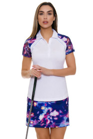 96f0063556f EP Pro NY Women s Luxor Moody Watercolor Print Pull On Golf Skort